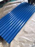 Vorgestrichenes gewölbtes Stahlblech für Dach-Blatt