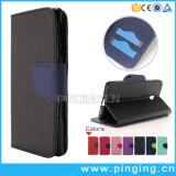 Смешанные цвета провод фиолетового цвета кожи Flip чехол для телефона Nokia 3