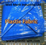 Feuille en plastique de toile de PE de tissu