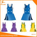 O vestido do Netball do Sublimation do desgaste do esporte veste Jersey