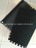 Крытый половой коврик резины блокировки