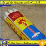 Fábrica blanca de la vela del hogar en China