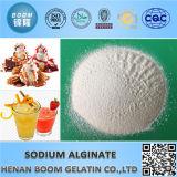 Alginato de sódio seguro de qualidade alimentar para Enhancer nutricional