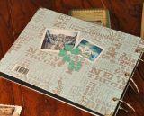 Rétro grippement de fil classique de type neuf imperméabilisant l'album photos de DIY