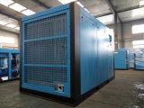 De freqüência da conversão compressor de ar giratório elevado do parafuso baixo