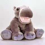 Jouet géant mignon de peluche d'hippopotame de jouet mou d'animal sauvage pour des gosses