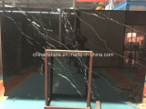 Стол Nero Marquina черный мраморный для комнаты дела