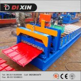 La tuile d'acier de Dixin 828 a ridé le roulis de panneau de toit formant la machine