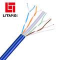 Soluções de rede Intellinet CAT6 macho RJ-45/RJ-45 Um patch cable de rede UTP masculino, 25 pés (341998)
