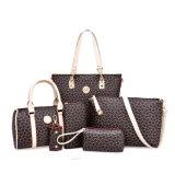 O designer de moda em couro PU 6 PCS em 1 Conjunto de bolsas de embraiagem 2019 Malas de bolsas de mulheres para as mulheres - Sacola grande