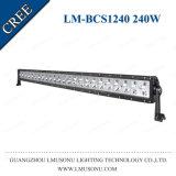 Lmusonu 240W LED 표시등 막대를 모는 Offroad 반점 플러드 결합 광속 똑바른 단 하나 줄 45 인치