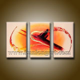 Pintura a óleo moderna Hand-Painted Abstract Wall Art (UCK3-0057)