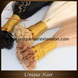 Preço de grosso europeu de Remy das extensões lisas do cabelo da ponta