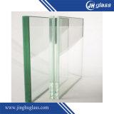 6.38mm 8.38mm 10.38mm claro la construcción de vidrio laminado templado