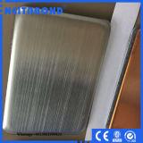 고품질 Neitabond 4mm 가는선/미러 스테인리스 Ss 합성물 위원회 (SSCP)