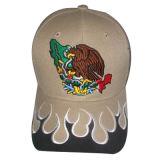 Gorra de béisbol del panel de la aduana 6 con la insignia Bb109