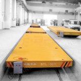 Schweres Materialtransport-elektrisches Schienen-Übergangsauto im Stahlwerk