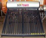 солнечный водонагреватель Unpressurized нержавеющая сталь