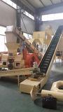 De Houten Briketten die van de Brandstof van de biomassa Machine maken