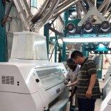 Linha de produção ultramarina da máquina do moinho do milho da instalação