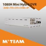 Оптовый гибрид 4CH миниое DVR IP 1080h Ahd Tvi Cvi