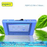 Automobile portatile che traccia il rivelatore di perdita dell'acqua sotterranea