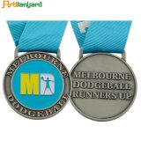 Kundenspezifische Metallpreis-Medaillen mit Farbband