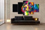 HD напечатало цветастую холстину Mc-067 изображения плаката печати декора комнаты печати холстины картины собаки