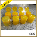 4 Cavities Plastic Injection Automatic Demoulding Flip Cap Mold