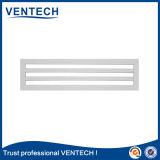 Slot de cor branca Bar do difusor de ar para uso de ventilação