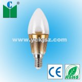 Lâmpada de Alta Lumens Velas LED 1W E12/E14/E17 (ELLZ-01CLPW-BNEX01)