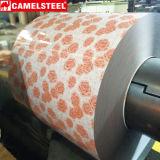 La capa de acero de la flor de la placa laminada en caliente galvanizó la bobina de acero
