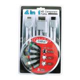 4 in 1 Kabel van de Component HD voor PS2/PS3/Wii/xBox360 (OB-S300310)
