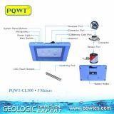 Pqwt- Cl500 5 mètres d'automobile portative traçant le détecteur de fuite de l'eau souterraine