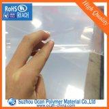 Лист PVC пластмассы PVC твердой ясности тонкий для складывая коробки