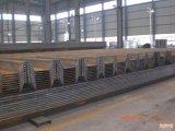 Type laminé à chaud pile 400X100mm, Sy295 d'U de tôle d'acier