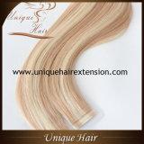 Migliore nastro di colore del piano estratto di qualità doppio nelle estensioni dei capelli
