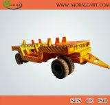 Utilização de depósito o carro de transporte de carga pesada com marcação CE