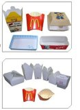 Máquina de caixa de comida chinesa Máquina de montagem de caixa de venda superior