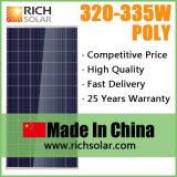 320W 많은 PV 광전지 태양 모듈 태양 전지판 태양계