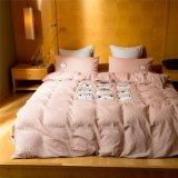 Tela 100% de algodón del nuevo lecho fijado para el hogar/el hotel