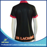 Sublimation cheio Custom Polo Shirt para Company Uniform