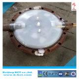 Anticorrosion van het Lichaam van het Gietijzer PTFE Gevoerde Vleugelklep Wth Pneumatisch in China bct-F4pbfv-1