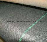 Toutes sortes de tissu agricole de couvre-tapis tissé par pp de lutte contre les mauvaises herbes