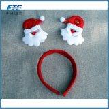クリスマスのヘッドバンドの装飾のサンタクロースのスノーマンの毛バンド装飾