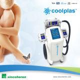 Carrocería opcional de Handpieces del tratamiento 3 que forma la máquina Coolplas Cryolipolysis de la belleza