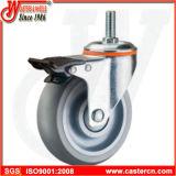 Рицинус колеса шарнирного соединения средств обязанности серый TPR