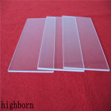 Haut de transmittance UV clair Jgs2 de la plaque de verre de quartz