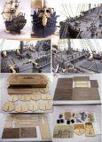 De model Uitrustingen van de Boot (Zwarte Parel)