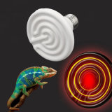 110V 125W 애완 동물과 동물 75*100 Dia 75를 위한 세라믹 먼 적외선 히이터 램프